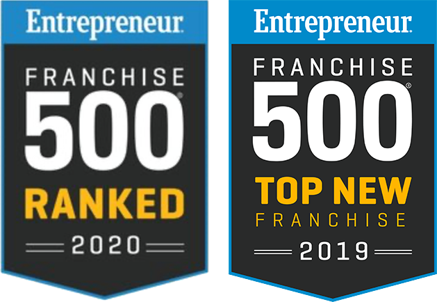 Entreprenuer Franchise Ranked 500